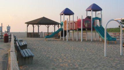 Playground at Short Beach, Smithtown 7/10/04